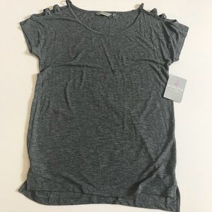 🆕‼️ATHLETA Siro Shoulder Cut out Tee Size Small